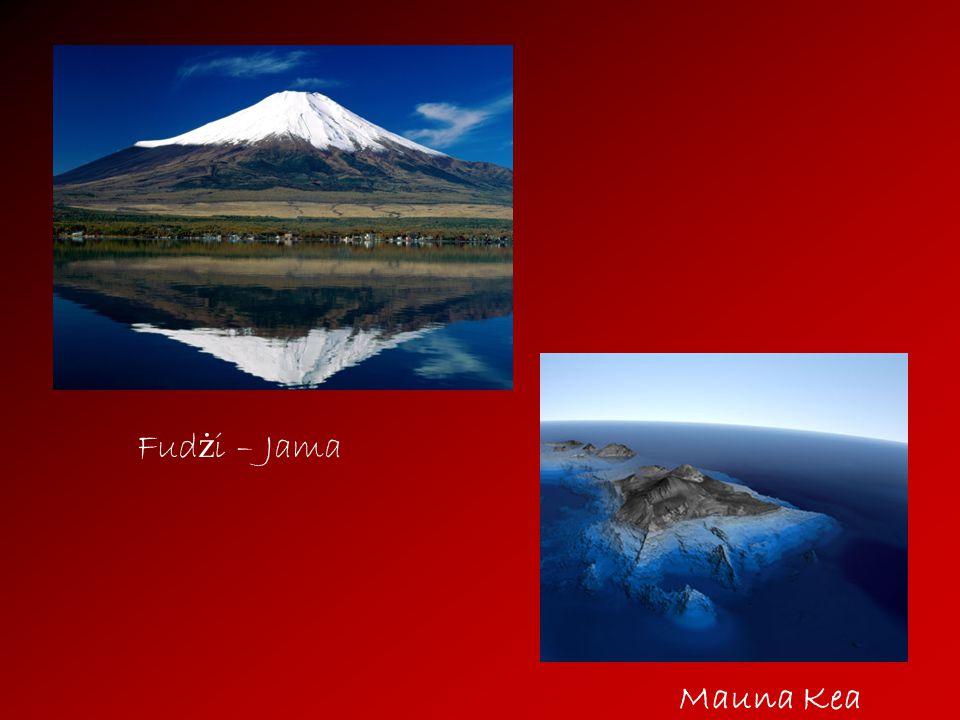 Fudżi – Jama Mauna Kea