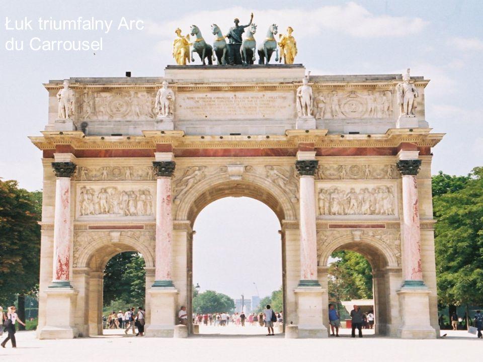 Łuk triumfalny Arc du Carrousel
