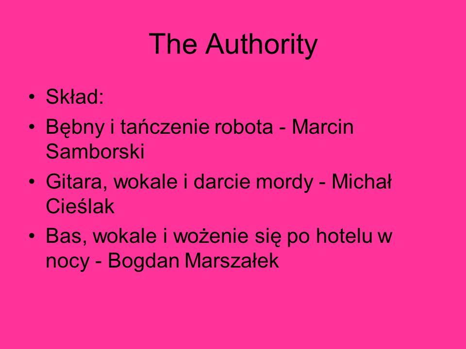 The Authority Skład: Bębny i tańczenie robota - Marcin Samborski