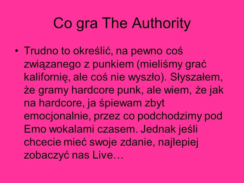 Co gra The Authority