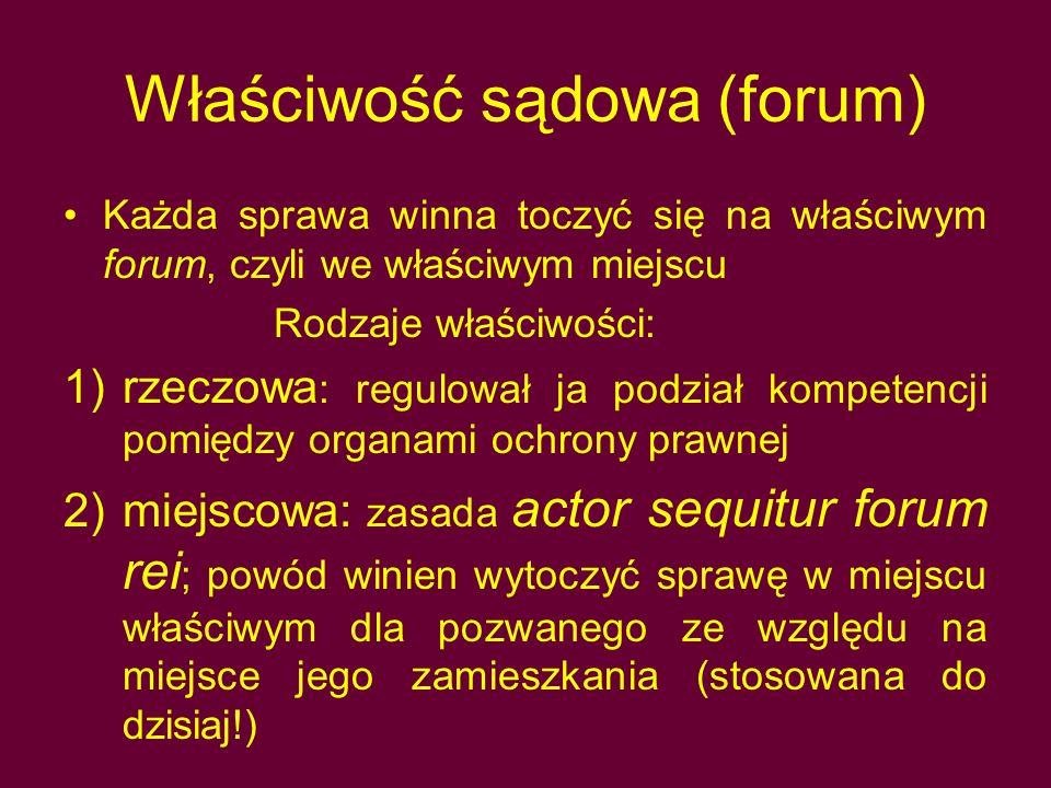 Właściwość sądowa (forum)