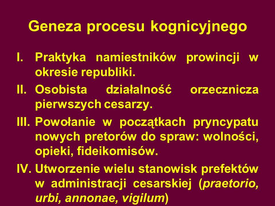 Geneza procesu kognicyjnego