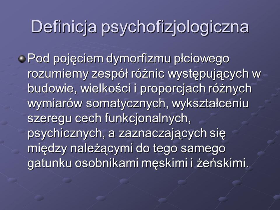 Definicja psychofizjologiczna