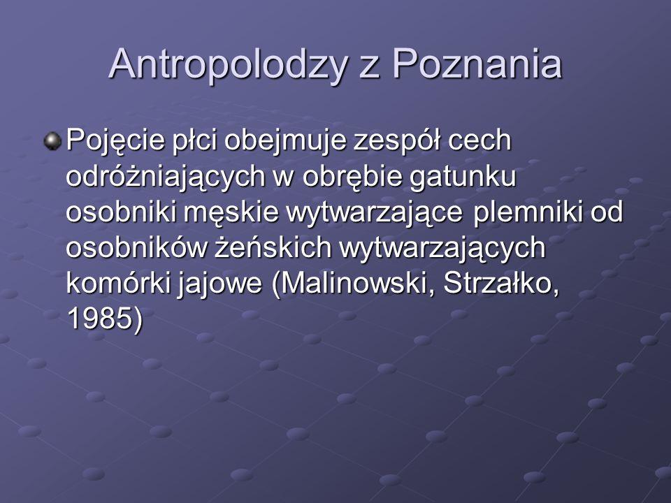Antropolodzy z Poznania