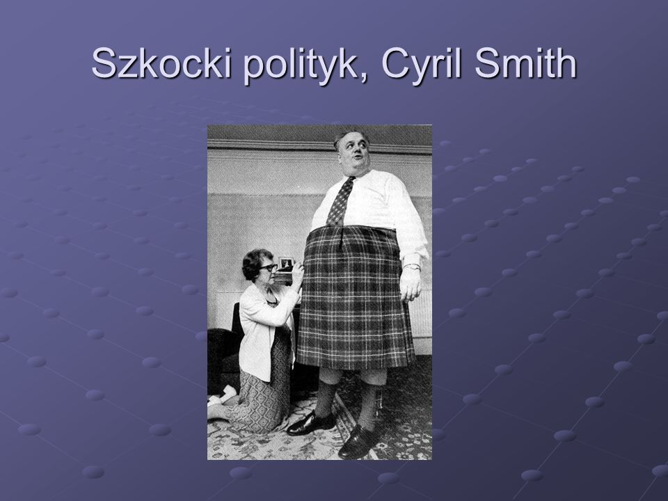 Szkocki polityk, Cyril Smith