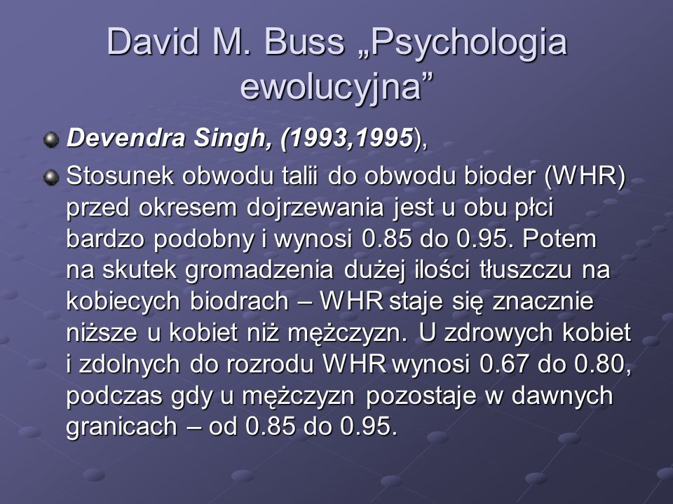 """David M. Buss """"Psychologia ewolucyjna"""