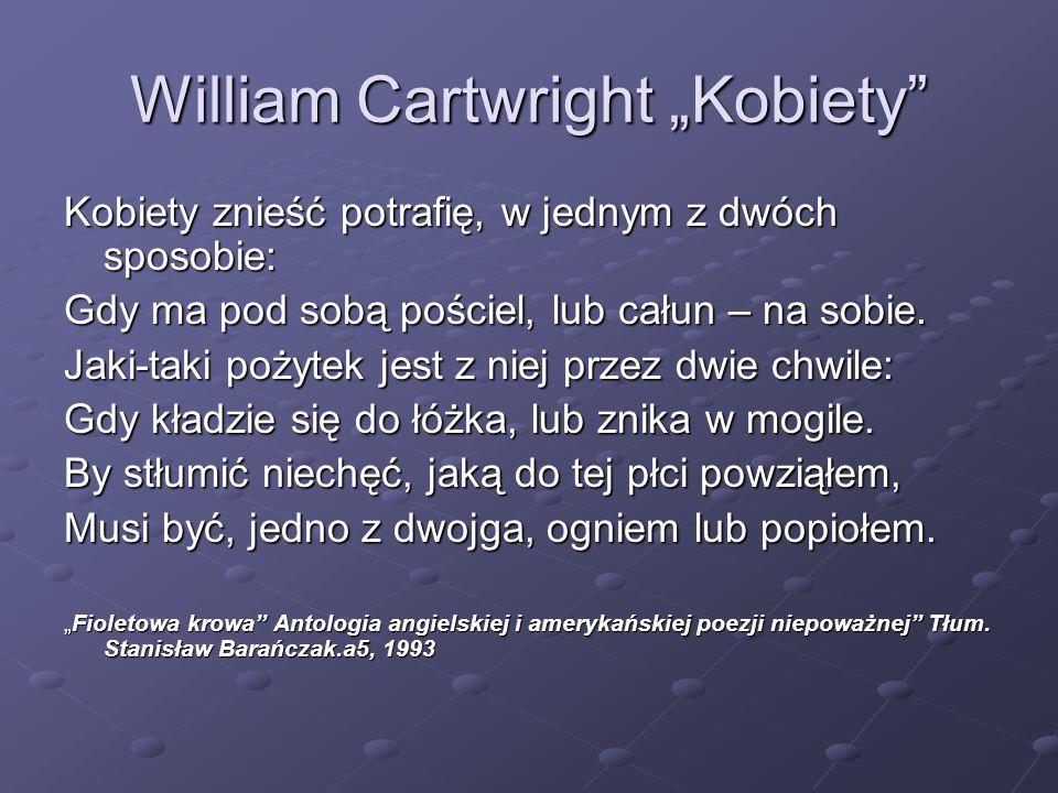 "William Cartwright ""Kobiety"