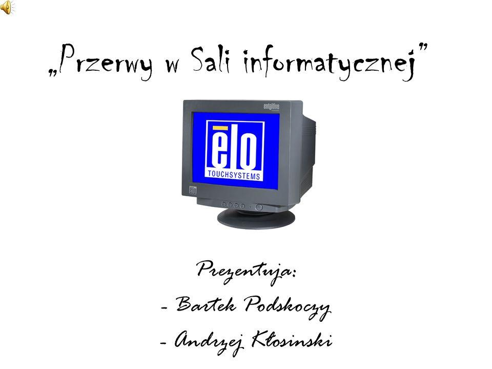 """""""Przerwy w Sali informatycznej"""