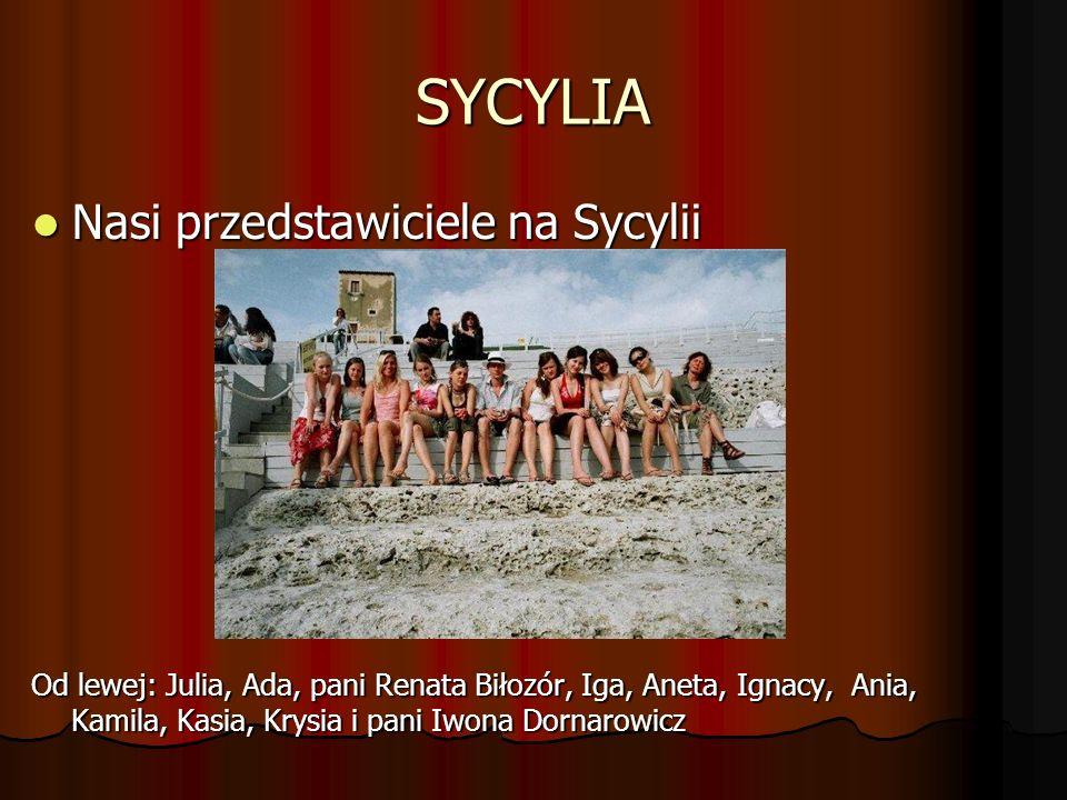 SYCYLIA Nasi przedstawiciele na Sycylii