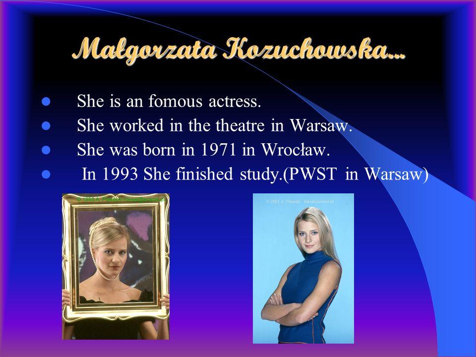 Małgorzata Kozuchowska...