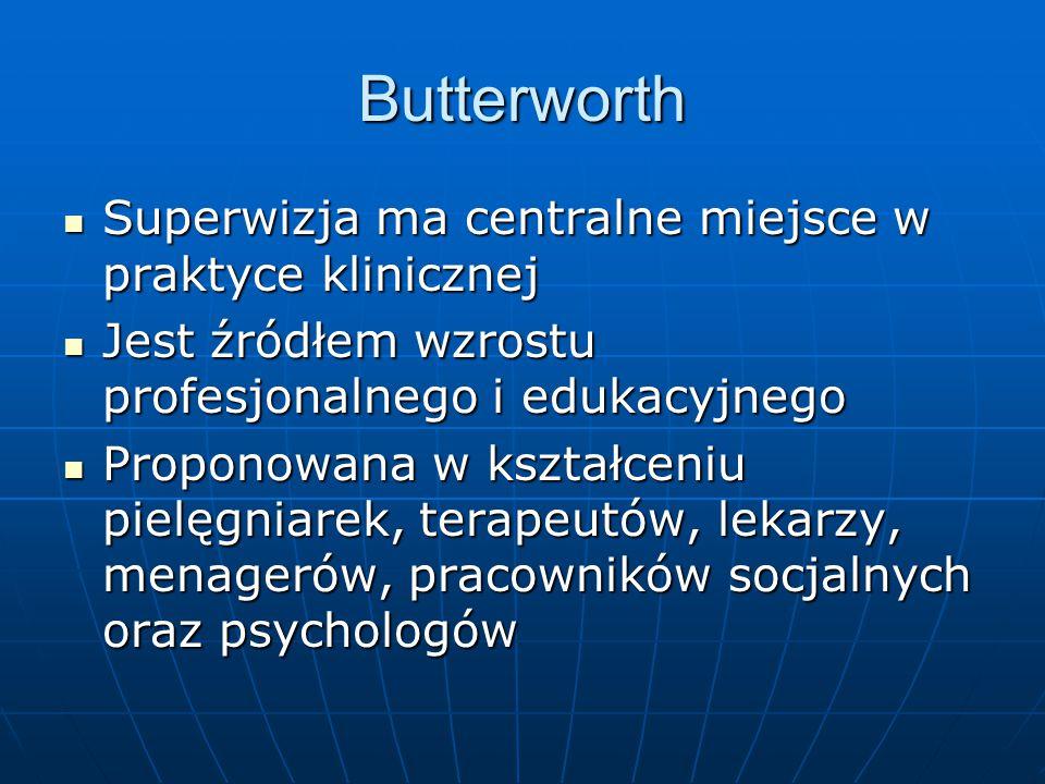 Butterworth Superwizja ma centralne miejsce w praktyce klinicznej