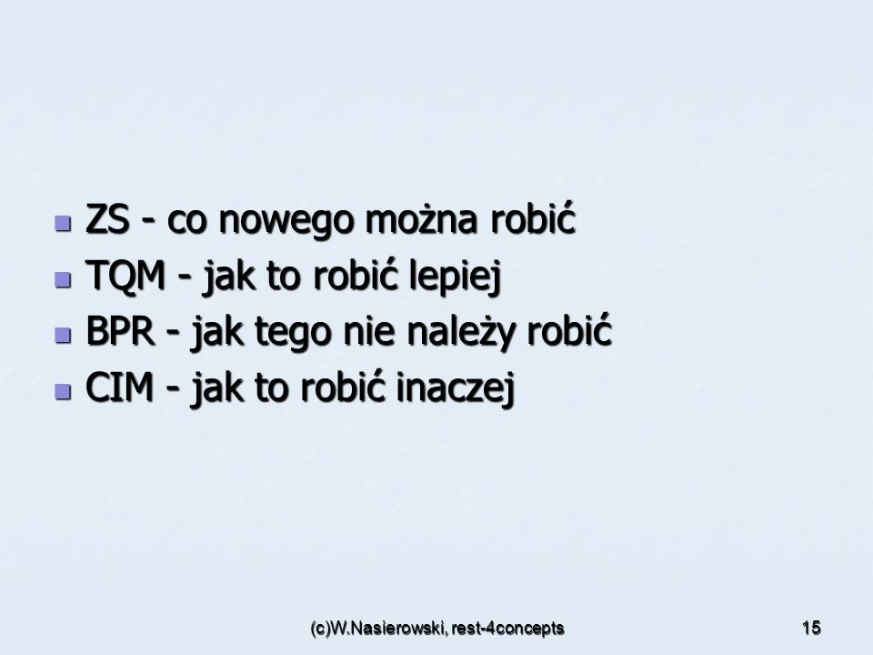 (c)W.Nasierowski, rest-4concepts