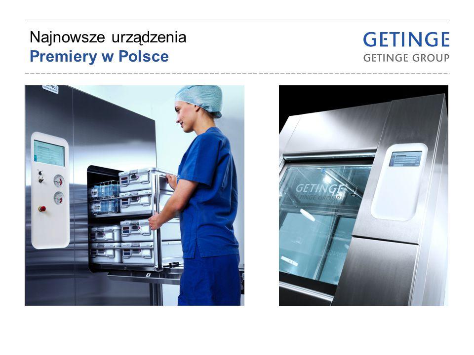 Najnowsze urządzenia Premiery w Polsce