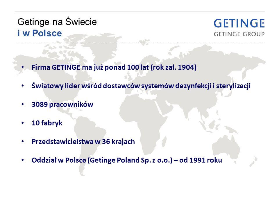 Getinge na Świecie i w Polsce