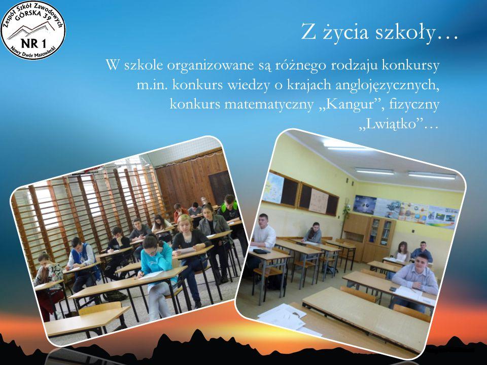 Z życia szkoły…