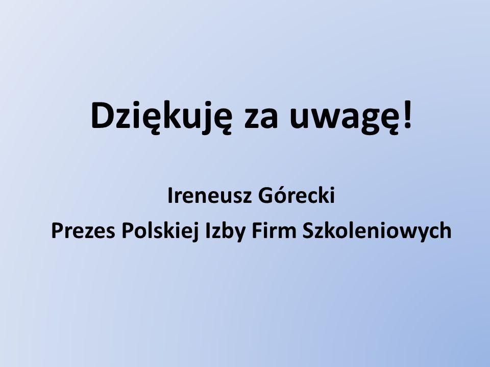 Prezes Polskiej Izby Firm Szkoleniowych
