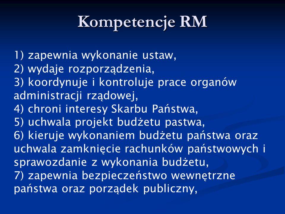Kompetencje RM