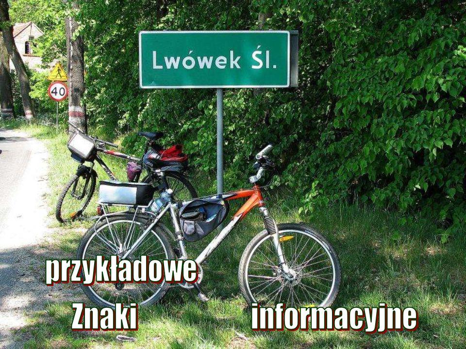 przykładowe Znaki informacyjne