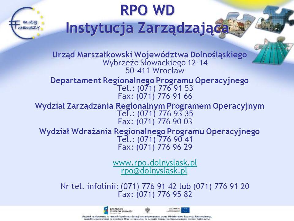RPO WD Instytucja Zarządzająca