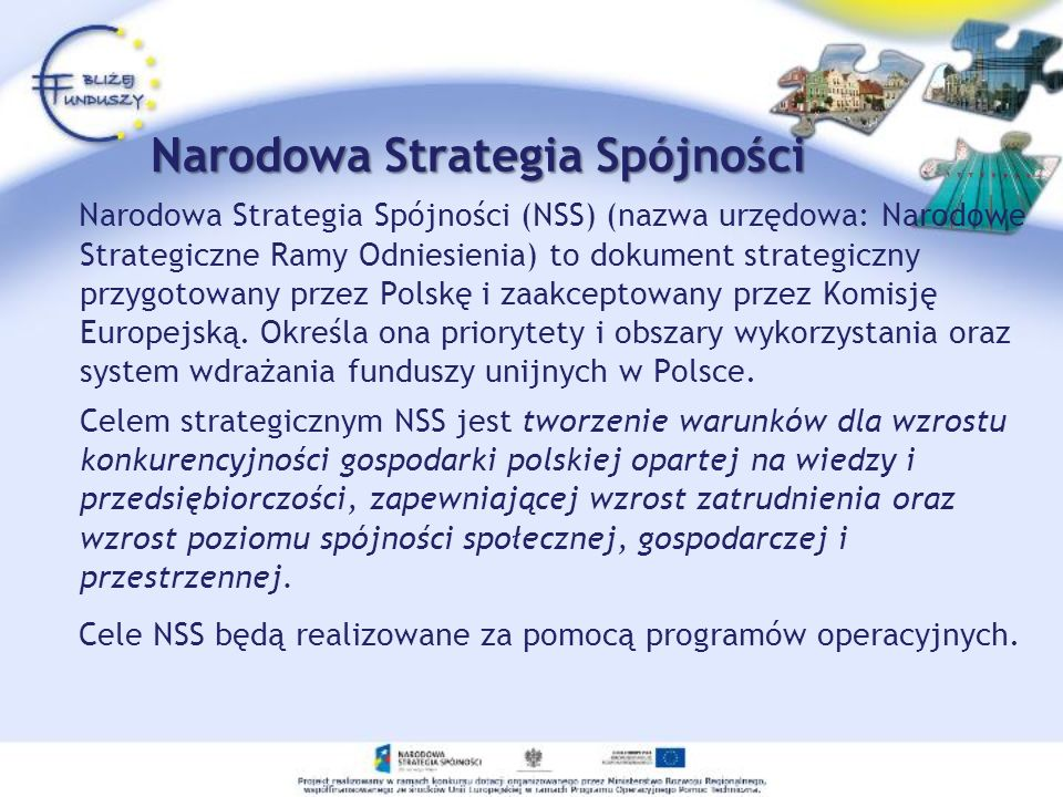 Narodowa Strategia Spójności