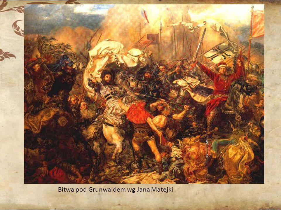 Bitwa pod Grunwaldem wg Jana Matejki
