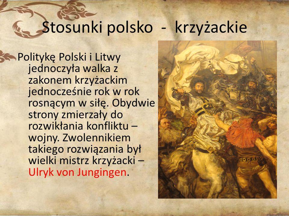 Stosunki polsko - krzyżackie
