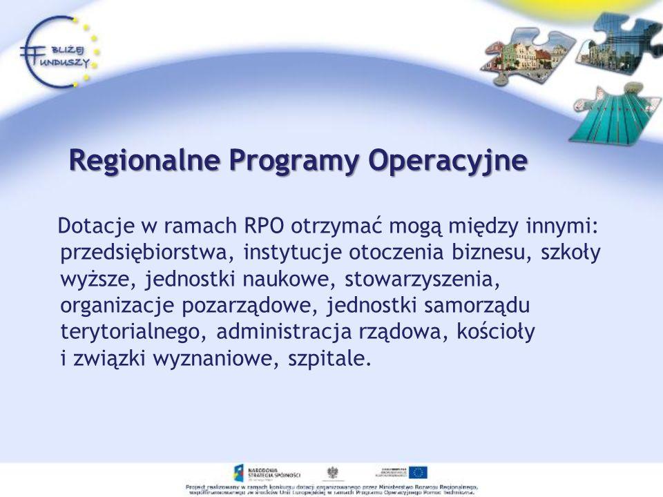 Regionalne Programy Operacyjne