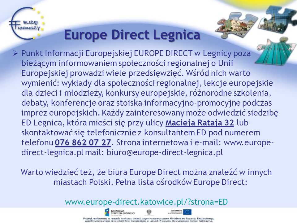 Europe Direct Legnica