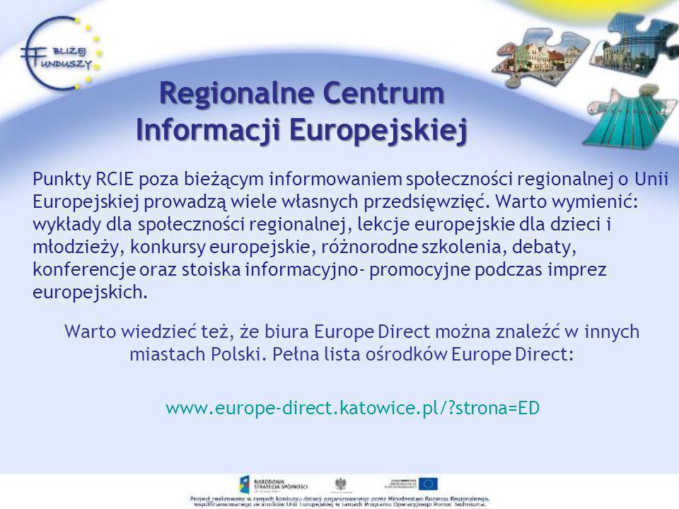 Regionalne Centrum Informacji Europejskiej