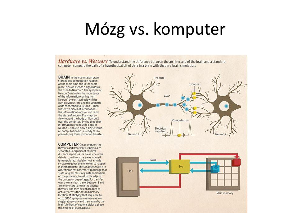 Mózg vs. komputer