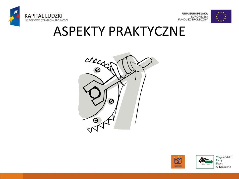 ASPEKTY PRAKTYCZNE