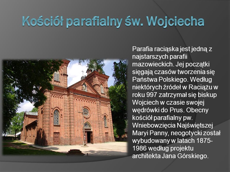 Kościół parafialny św. Wojciecha