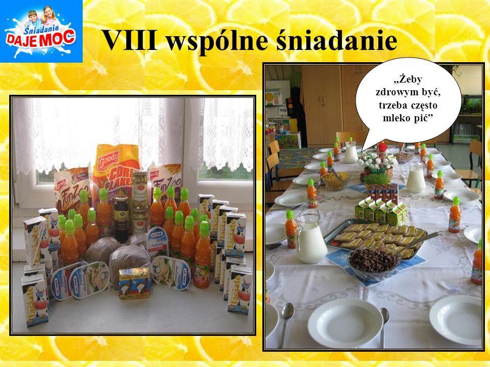 VIII wspólne śniadanie
