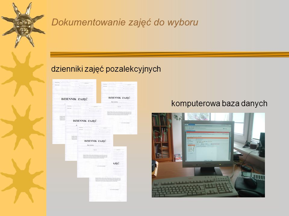 Dokumentowanie zajęć do wyboru