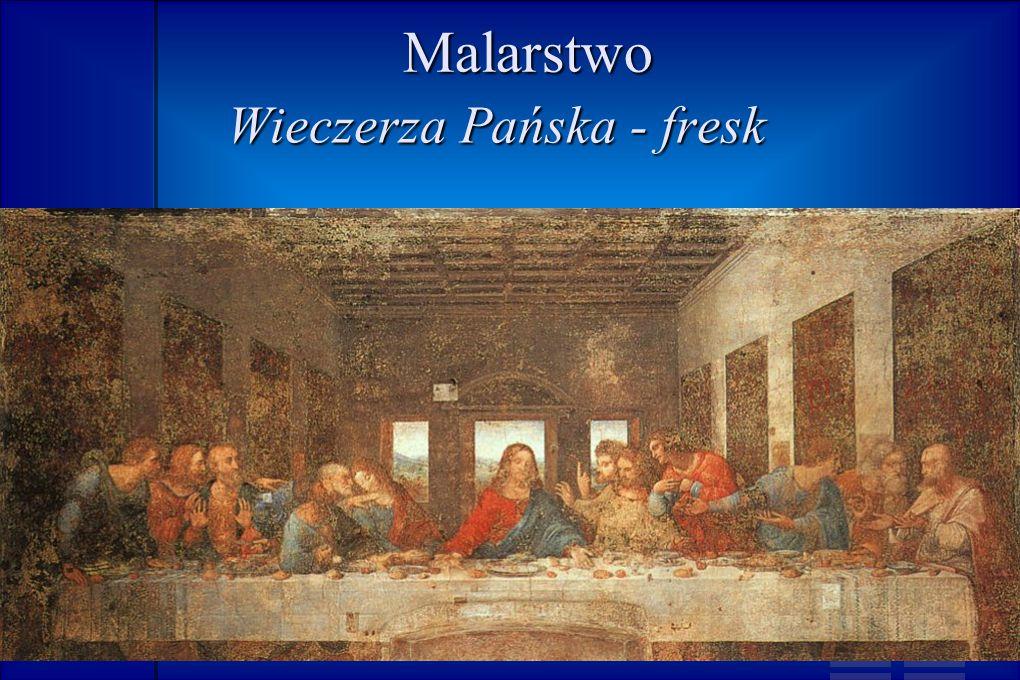 Malarstwo Wieczerza Pańska - fresk