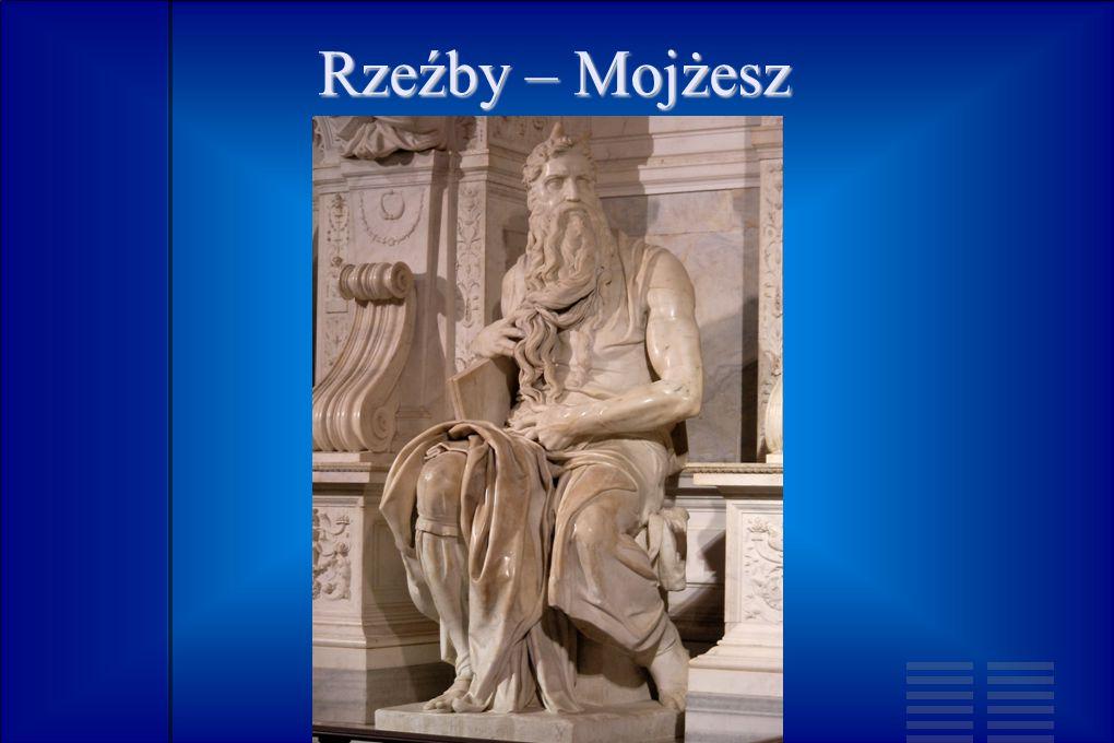 Rzeźby – Mojżesz