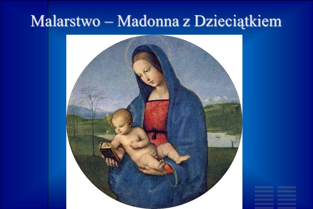 Malarstwo – Madonna z Dzieciątkiem
