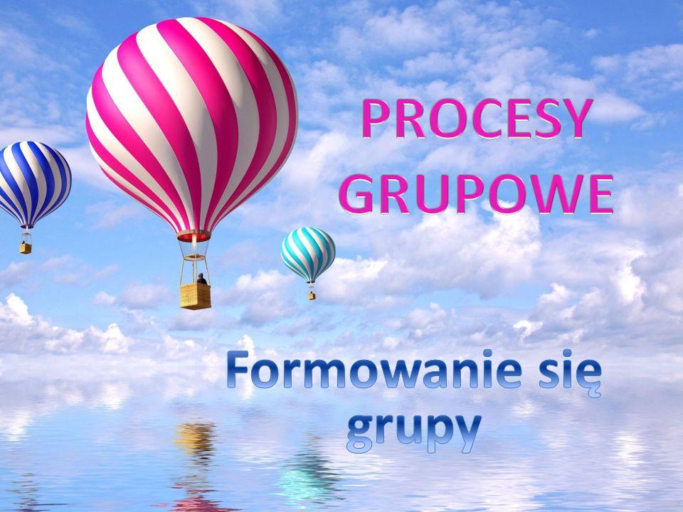 PROCESY GRUPOWE Formowanie się grupy