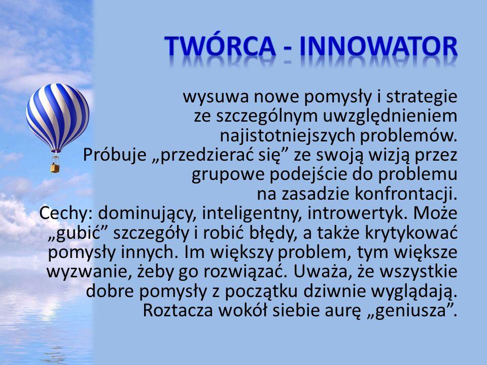 twórca - innowator