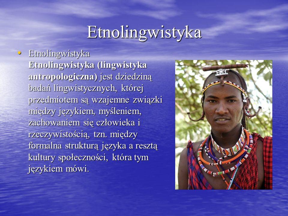 Etnolingwistyka