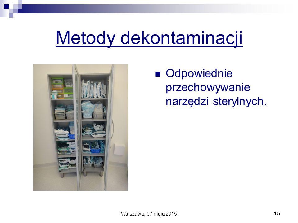 Metody dekontaminacji
