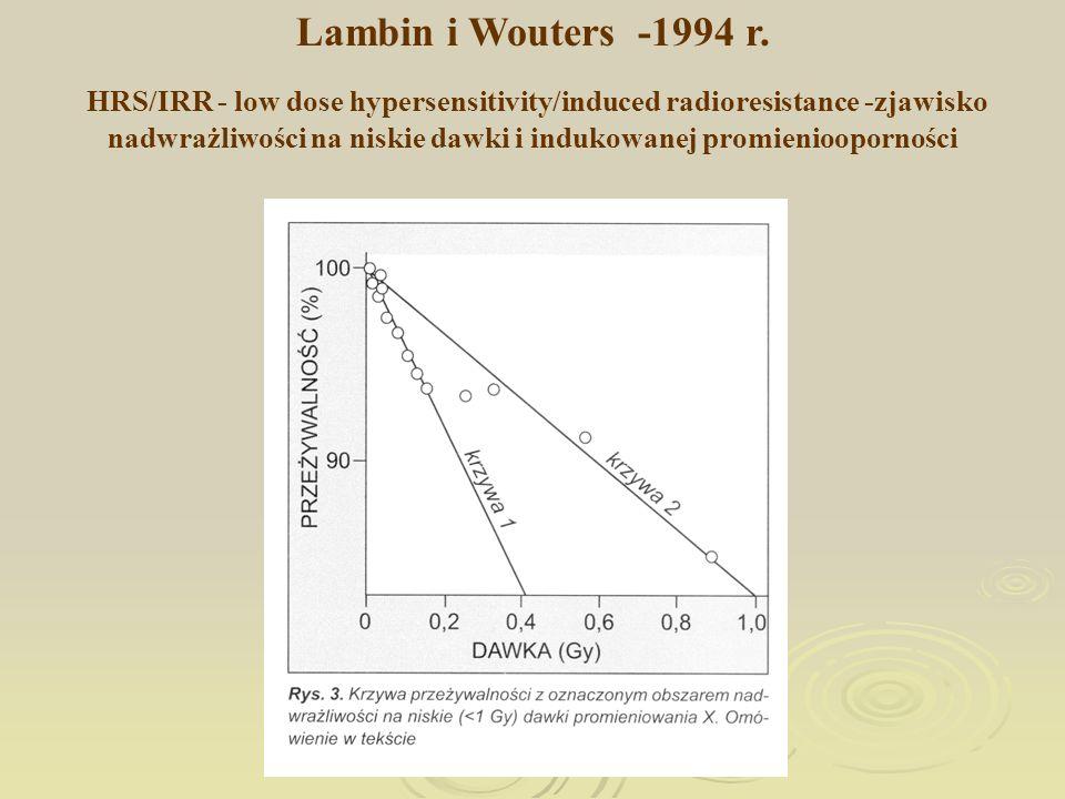 Lambin i Wouters -1994 r.