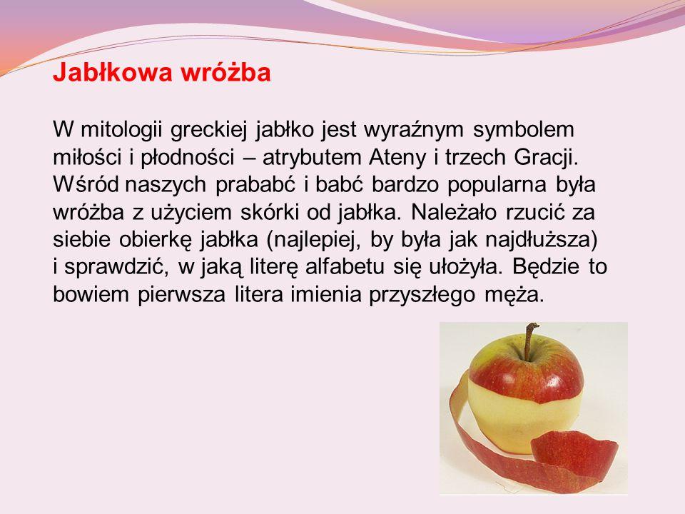 Jabłkowa wróżba