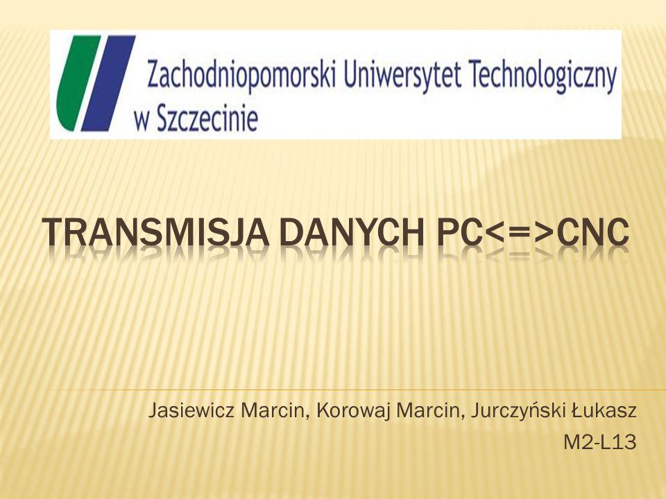 Transmisja danych pc<=>cnc