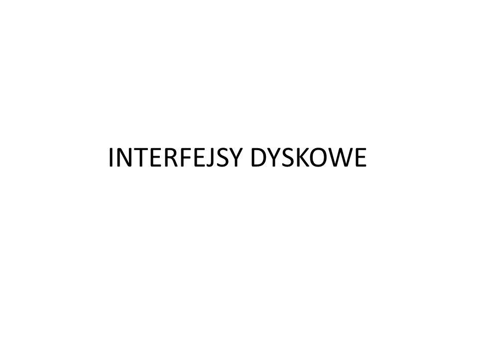 INTERFEJSY DYSKOWE