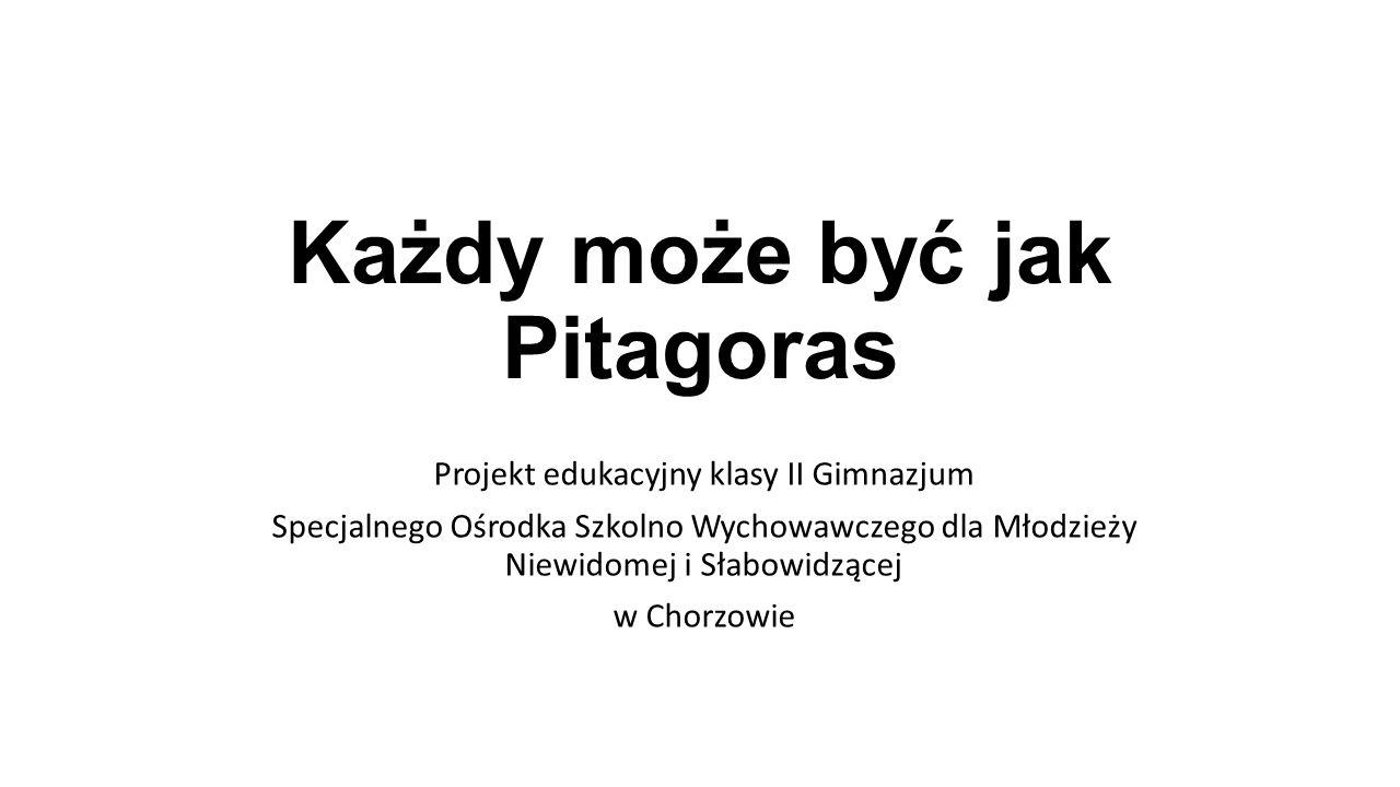 Każdy może być jak Pitagoras