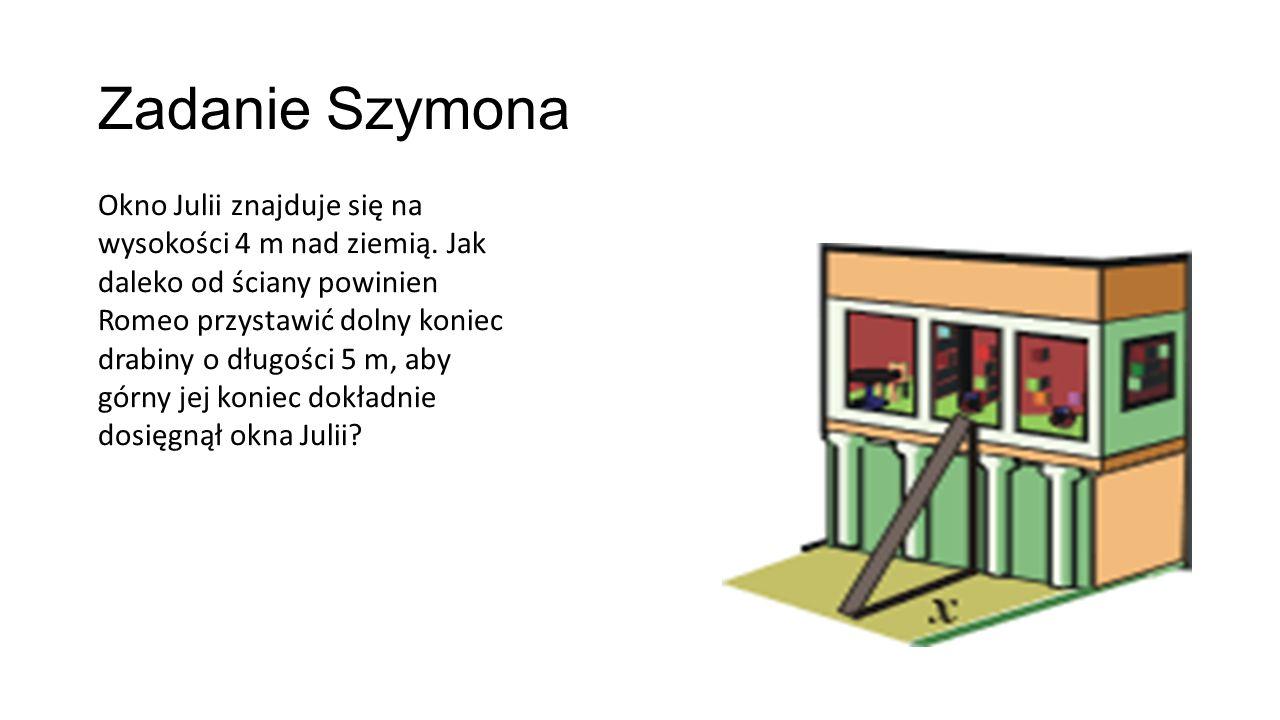 Zadanie Szymona