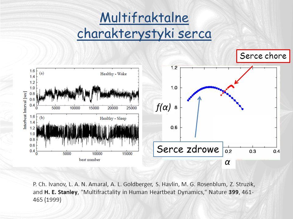 Multifraktalne charakterystyki serca