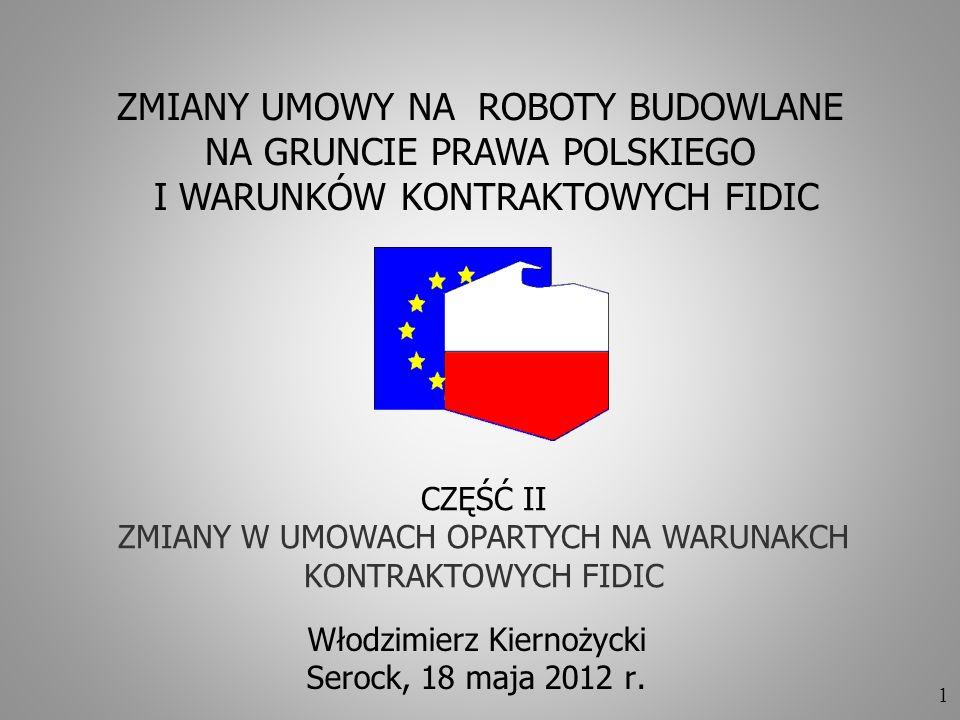 Włodzimierz Kiernożycki Serock, 18 maja 2012 r.