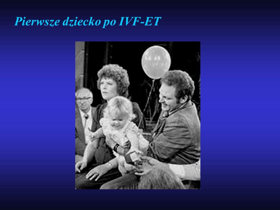 Pierwsze dziecko po IVF-ET